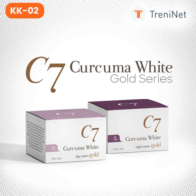 C7 Curcuma White Day  & Night Cream