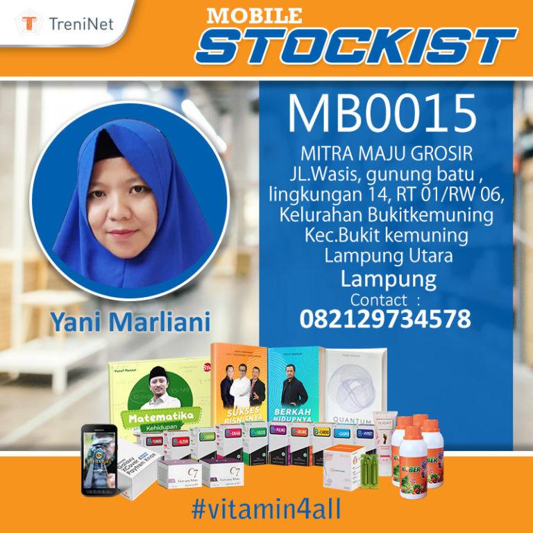 Stockist MB0015