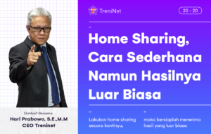 home sharing cara sederhana